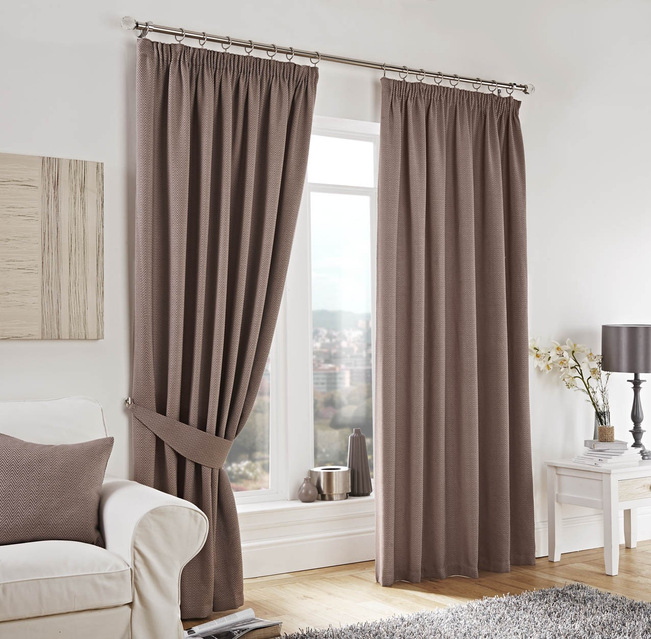 How to choose the right fabric for your curtains - Modern fabrics for curtains ...